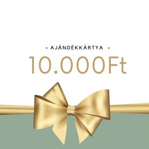 Ajándékkártya 10 ezer forint