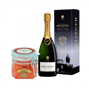 Champagne, caviar