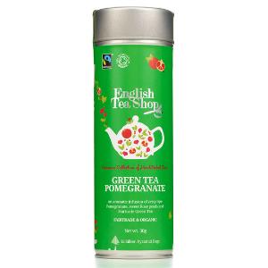 gránátalmás zöld tea bio