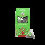 gránátalmás zöld bio tea