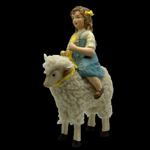 kislány és a bárány